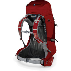 Osprey Atmos AG 50 Backpack Herre rigby red